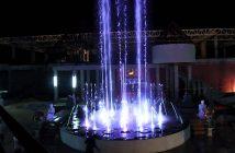 Light Fountain at Mimosa
