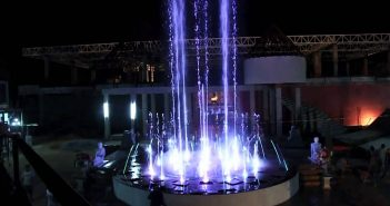Light Fountain at Mimosa