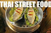 Thai Street Food at Thepprasit Night Market