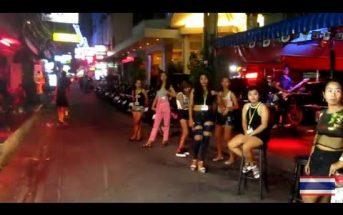 Pattaya Beach to Soi 8 Tourist Zone