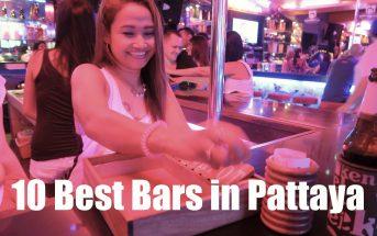 Top ten bars in Pattaya, Thailand