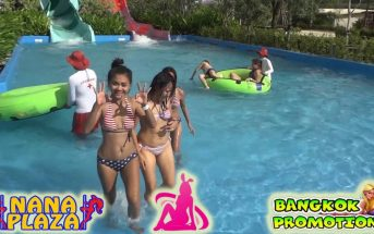Sexy Bunnies at Pattaya Waterpark