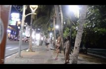 Normal night in Beach Road, Pattaya