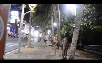 Normal night in Beach Road, Pattaya