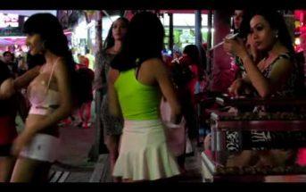 Ladyboys in Walking Street, Pattaya