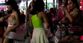 Ladyboys in Walking Street, Pattaya